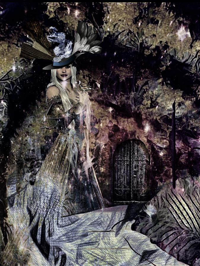 Fantasy Digital Art - Fairy by Gunilla Munro Gyllenspetz