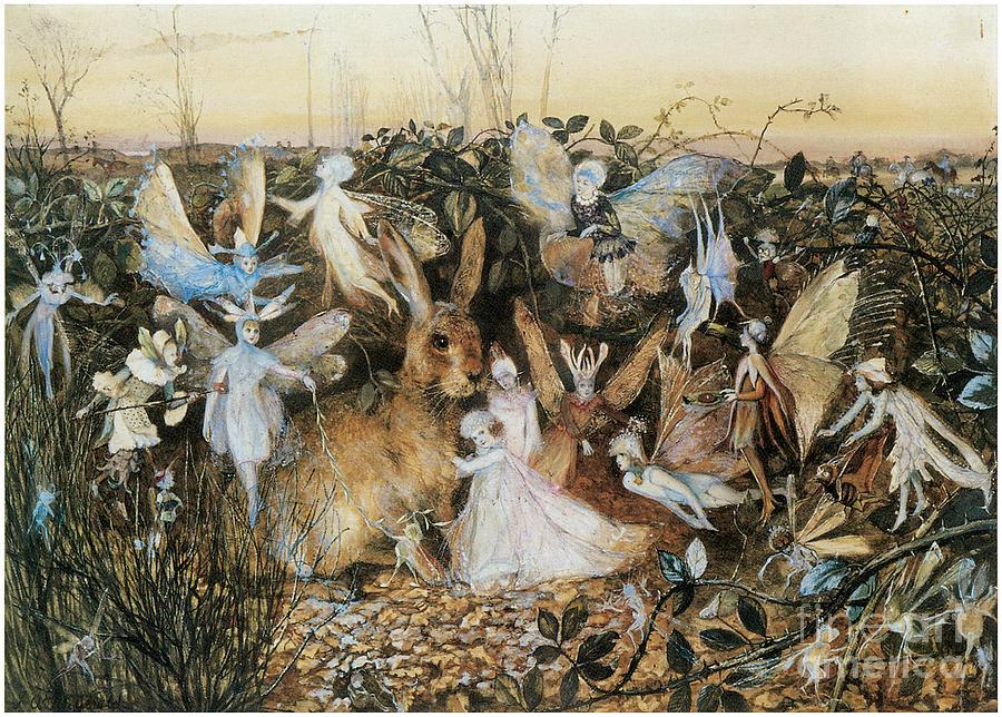 Fairy Twilight Painting