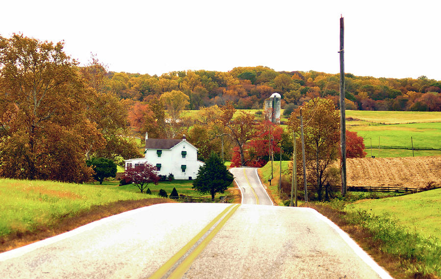 Fall Beauty Of Chester County Photograph