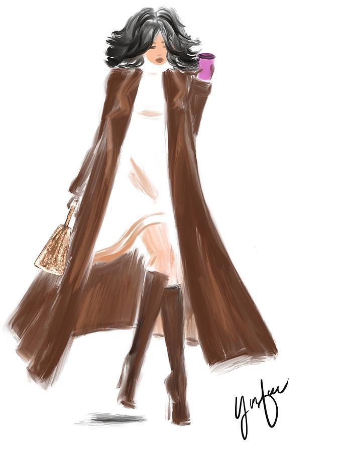 Fall Fashion Mixed Media