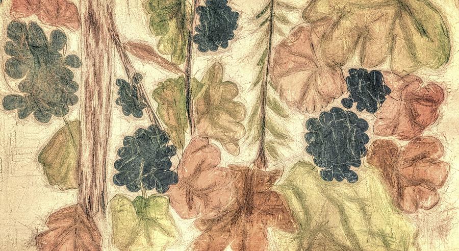Fall Leaves Digital Art