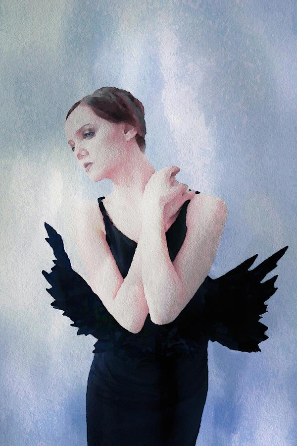 Fallen Angel Digital Art