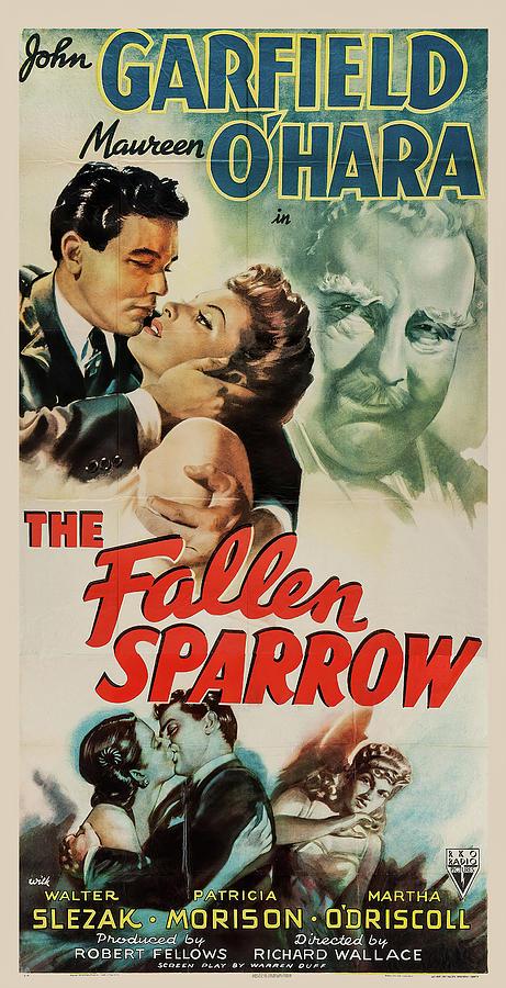 fallen Sparrow 2, With John Garfield And Maureen Ohara, 1943 Mixed Media