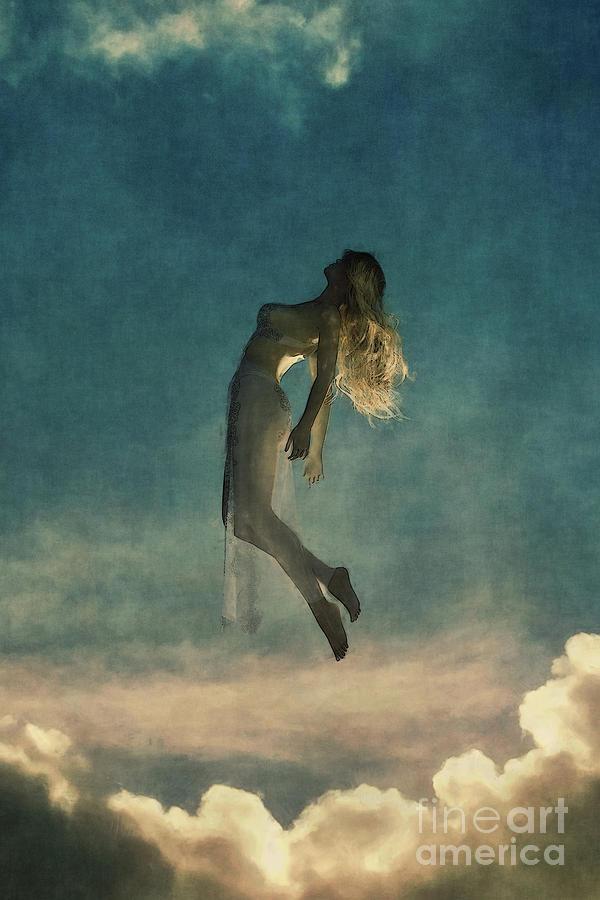 Falling Angel by Clayton Bastiani