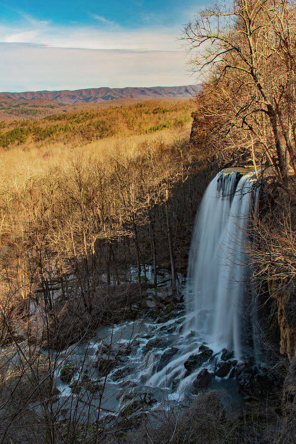 Virginia Photograph - Falling Spring Falls by Melissa Southern
