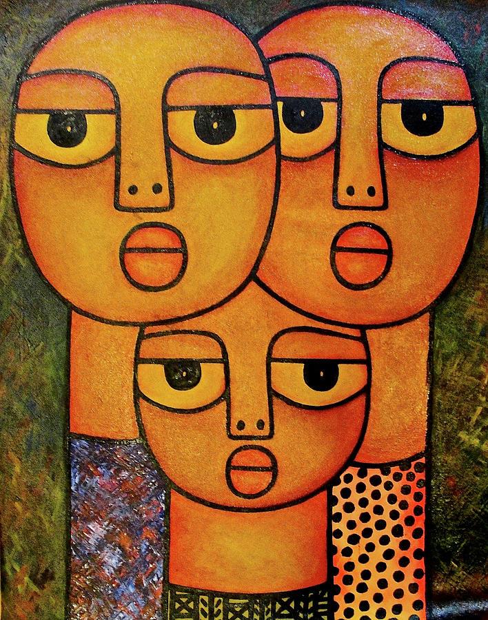 Family Portrait by Elisha Ongere