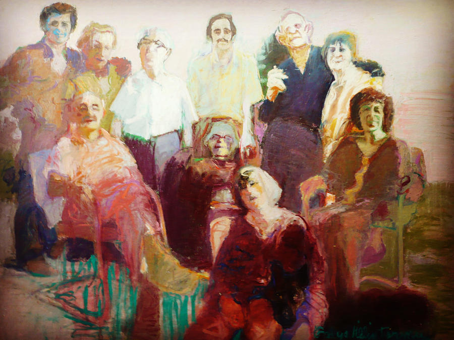 Family Reunion Painting - Family Reunion by Galya Tarmu
