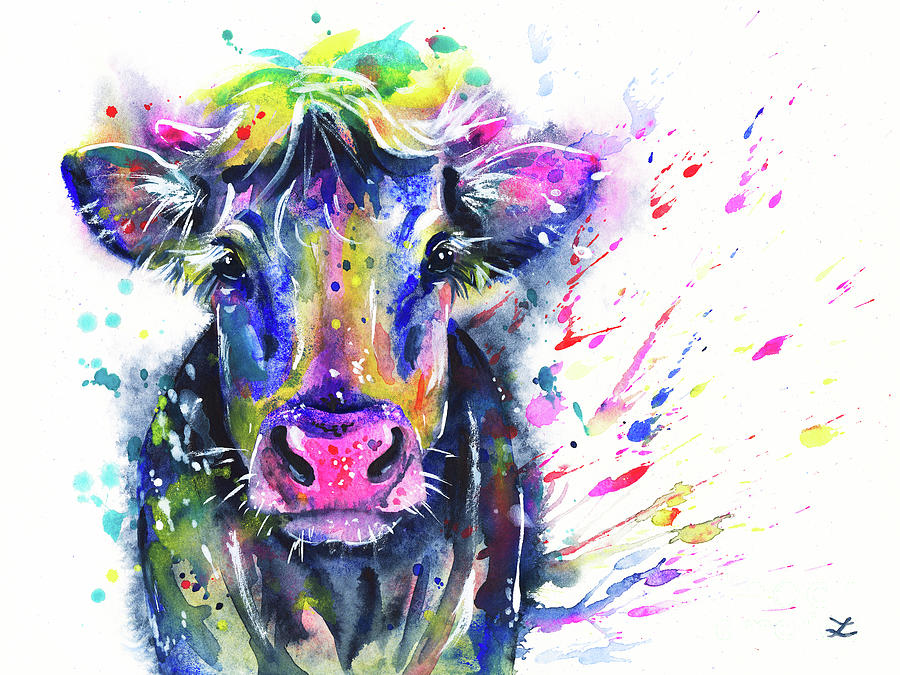 Fancy Cow Painting