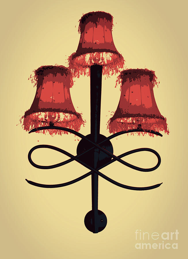 Fancy Lamp Shades by Carol Groenen
