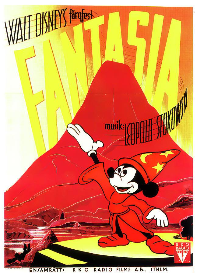 fantasia, 1940 Mixed Media