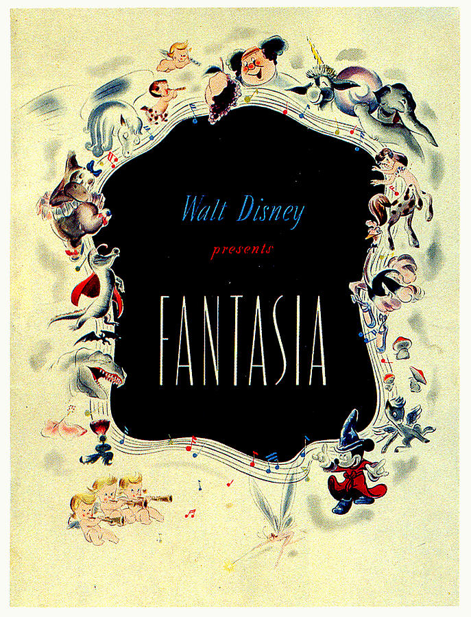 fantasia Movie Poster 1940 Mixed Media