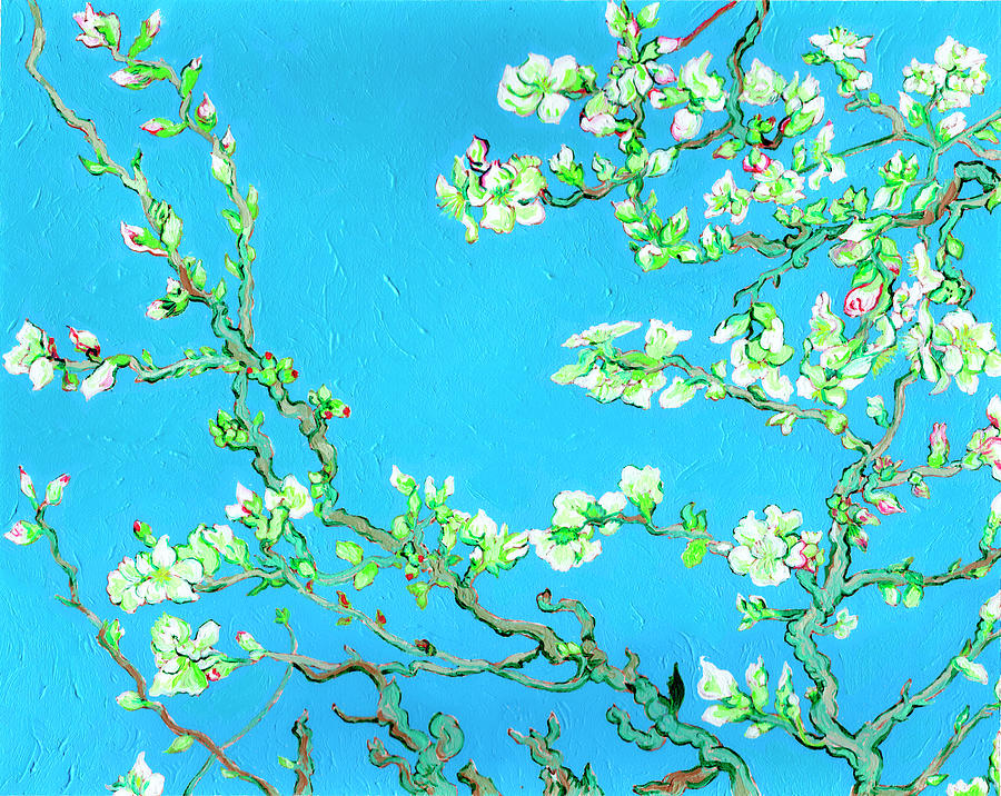 Fantastic Forgeries Almond Blossoms by Xavier Francois