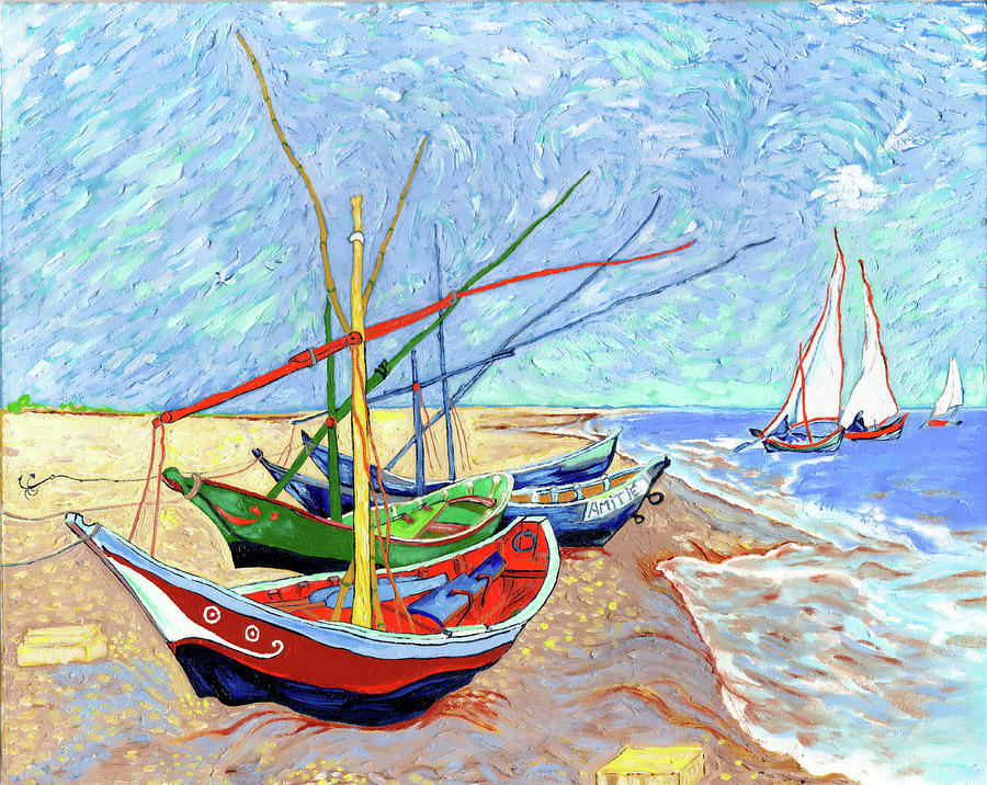 Van Gogh Painting - Fantastic Forgeries no 5 by Xavier Francois Hussenet