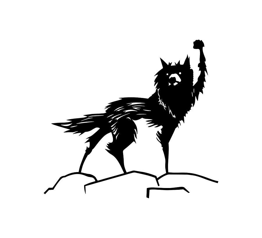 Fantastic Mr Fox Wolf Digital Art By Teassa Herdian