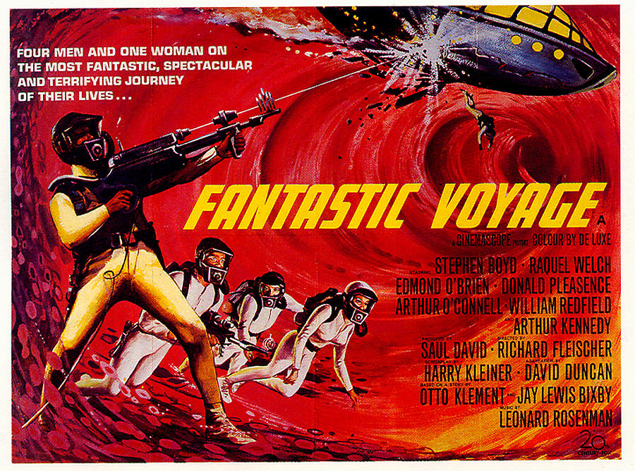 fantastic Voyage Movie Poster 1966 Mixed Media
