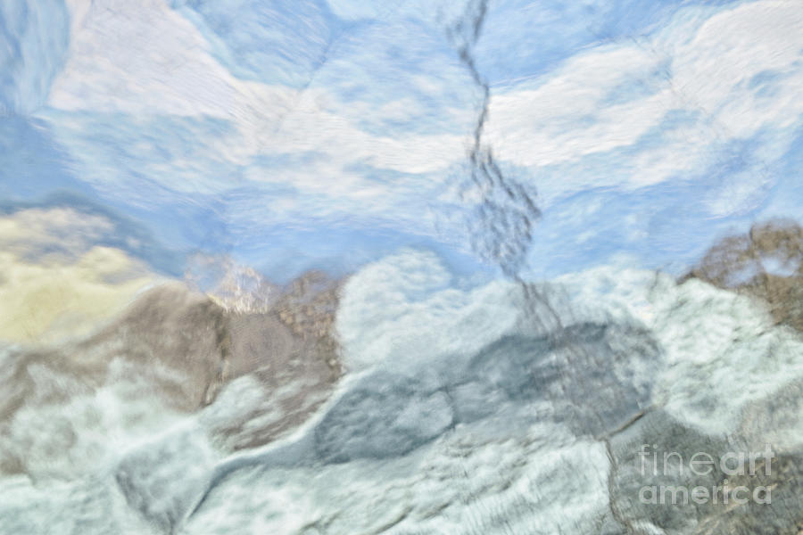 Fantasy In Frosted Glass Photograph