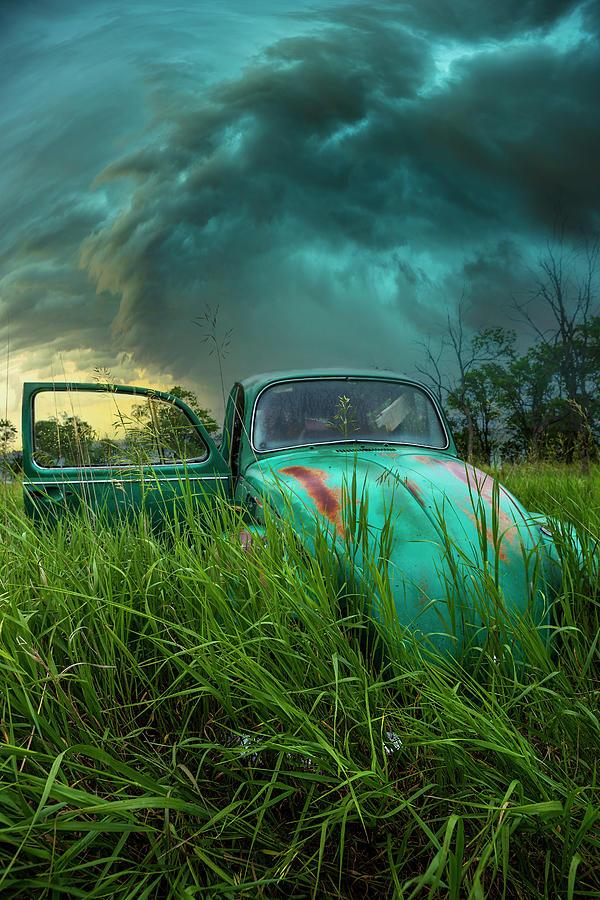 Shelf Cloud Photograph - Far From Home by Aaron J Groen