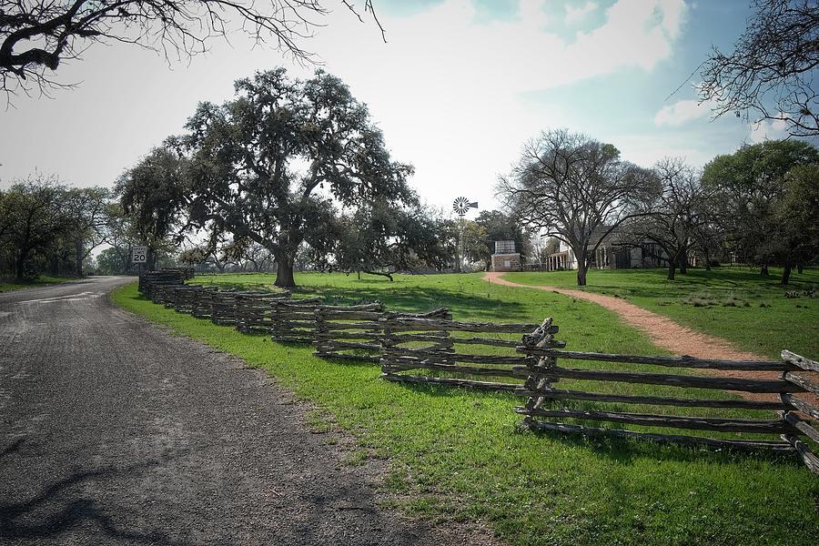 Farm Fence Photograph