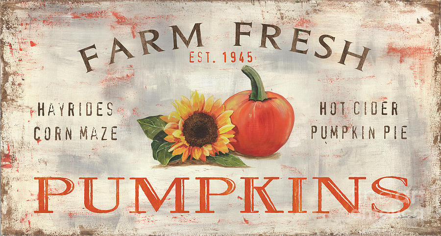 Farm Fresh Pumpkins 1 Painting