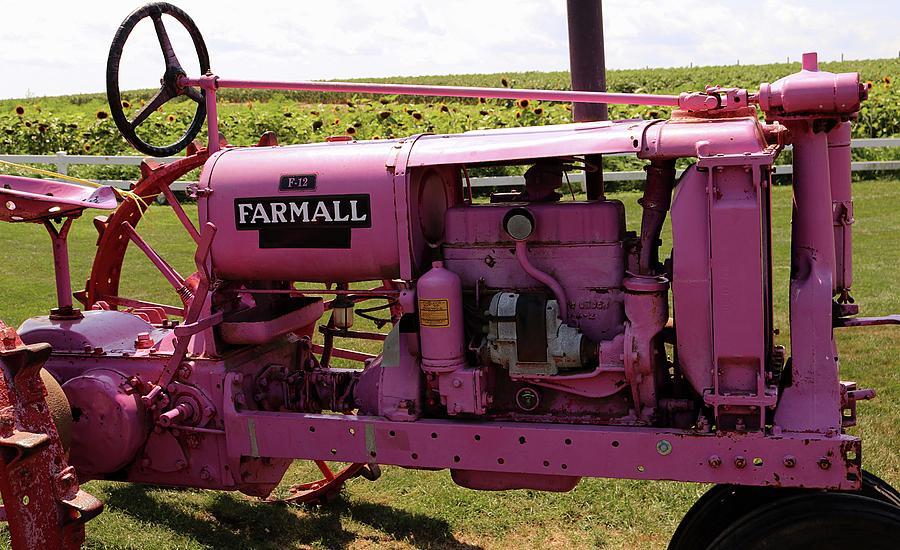 Farmall Tractor Photograph