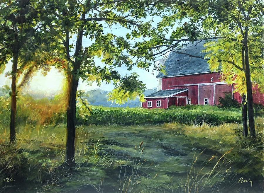 Barn Painting - Farmers sea by William Brody
