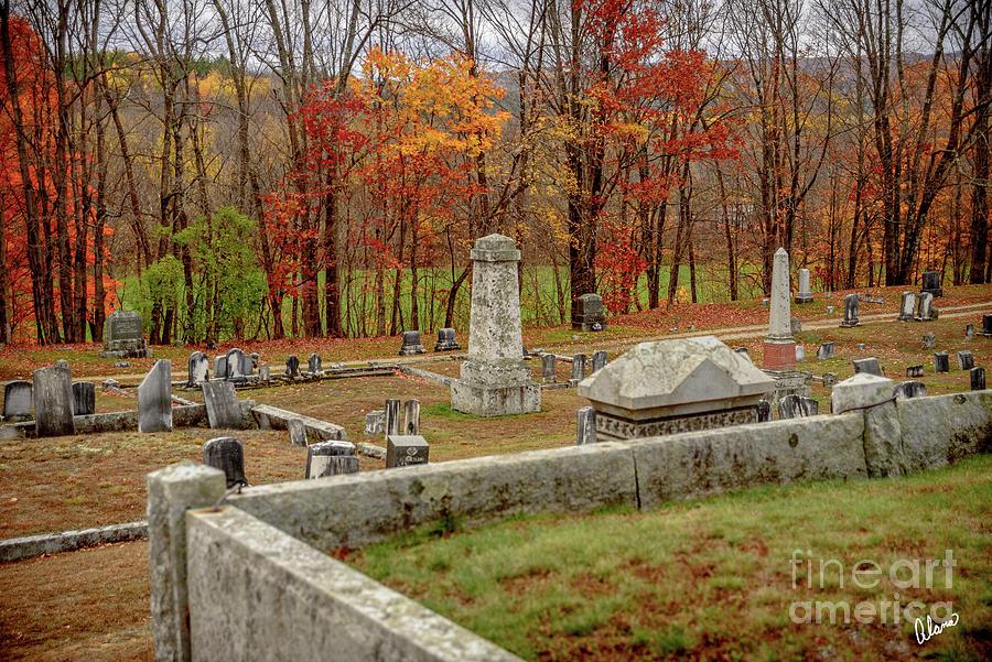 Farmington Cemetery Photograph