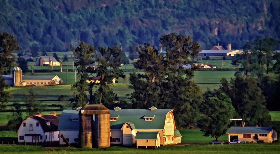 Farmland on a Lazy Afternoon by Richard Farrington