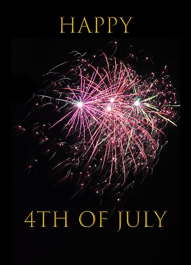 Happy 4th Of July Mixed Media