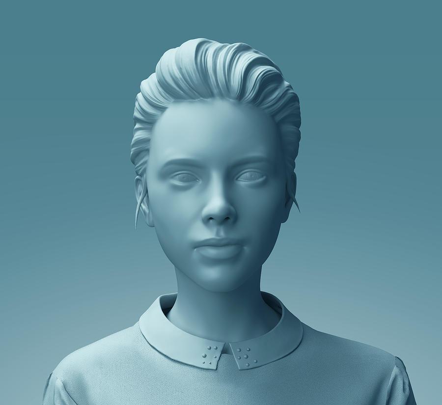 Fashion mannequin woman sculpture close up Photograph by Radoslav  Zilinsky