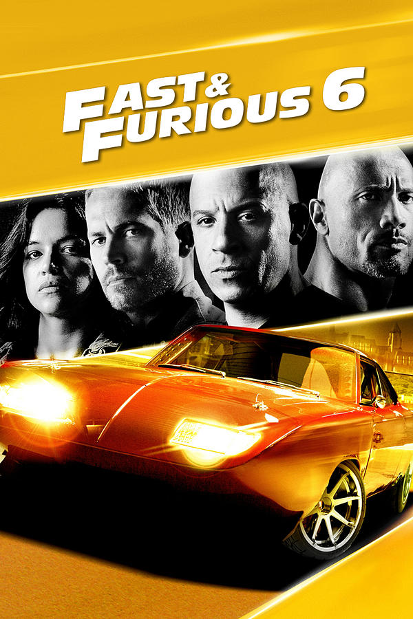 Fast And Furious 6 2013 Digital Art By Geek N Rock