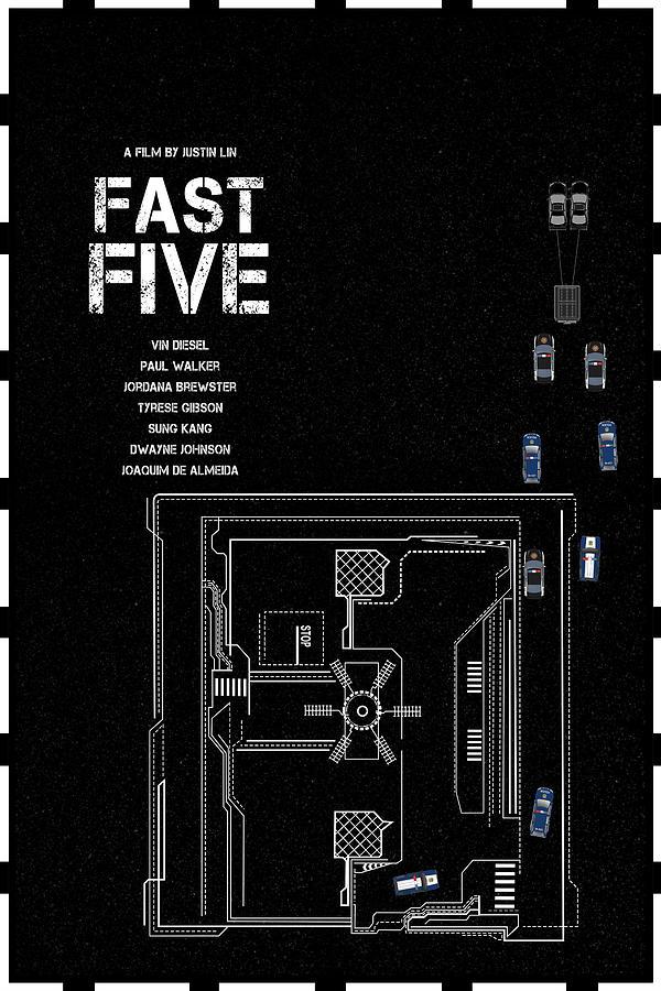 Fast Digital Art - Fast Five by Edgar Ascensao