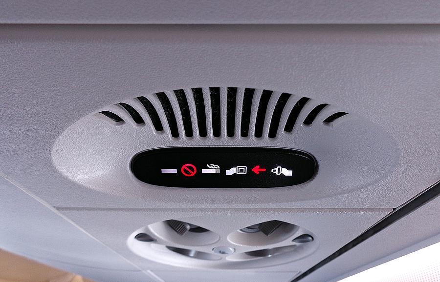 Fasten Seat Belt / No Smoking by Thomas Schroeder