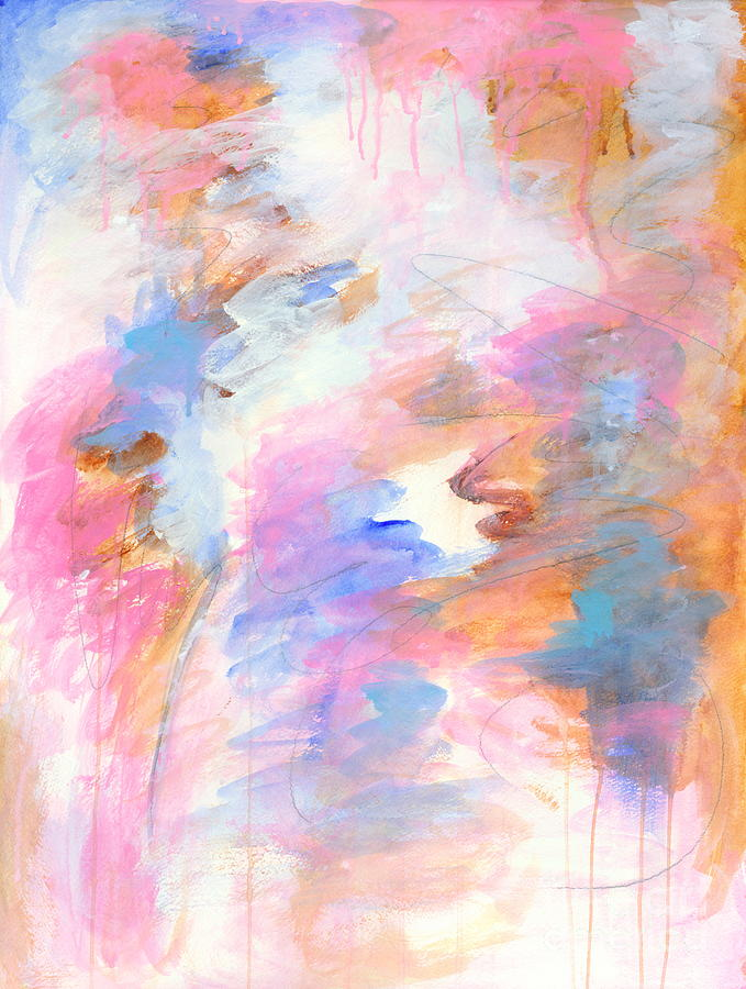 Fated Painting - Fated Abstract Expressionist Art Painting by Itaya Lightbourne