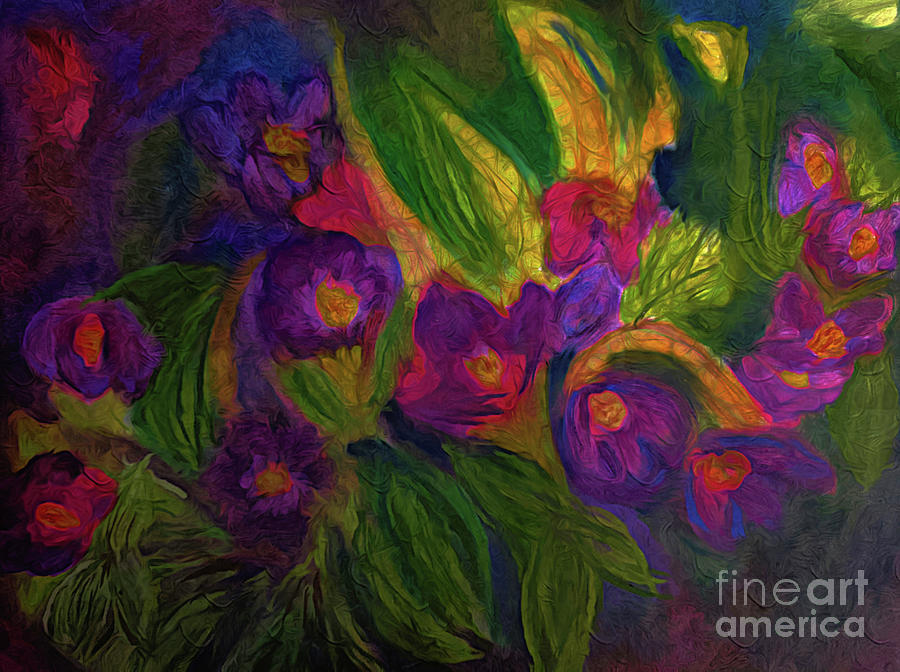 Favorite Purple Blooms Pastel