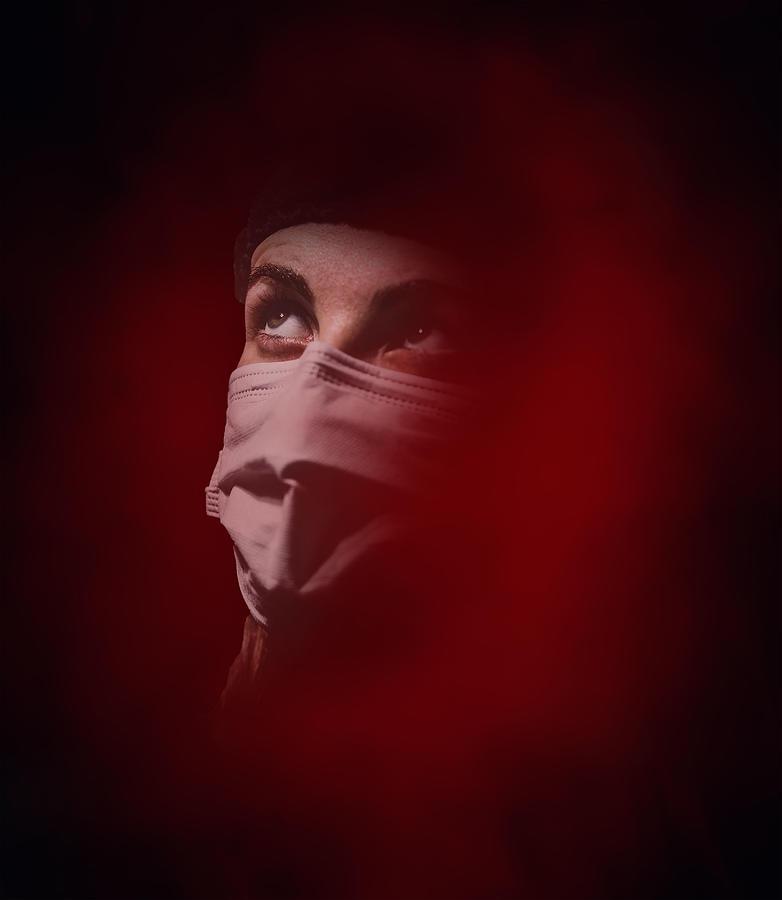 Fear Of Covid 19 Virus Pandemic Photograph