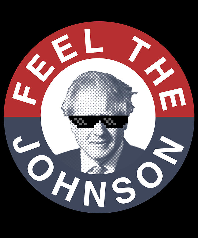 Boris Johnson Digital Art - Feel the Boris Johnson Conservative Party by Flippin Sweet Gear