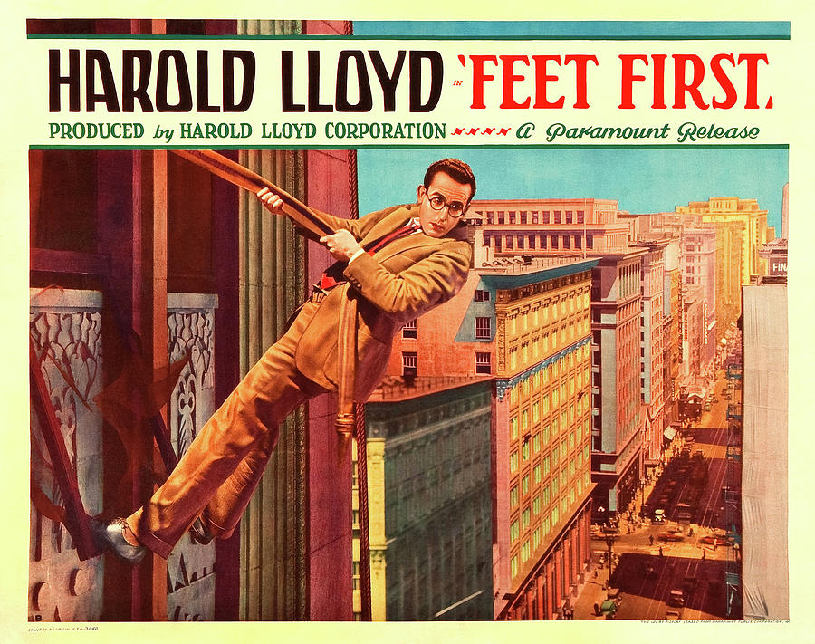 feet First, With Harold Lloyd, 1930 Mixed Media