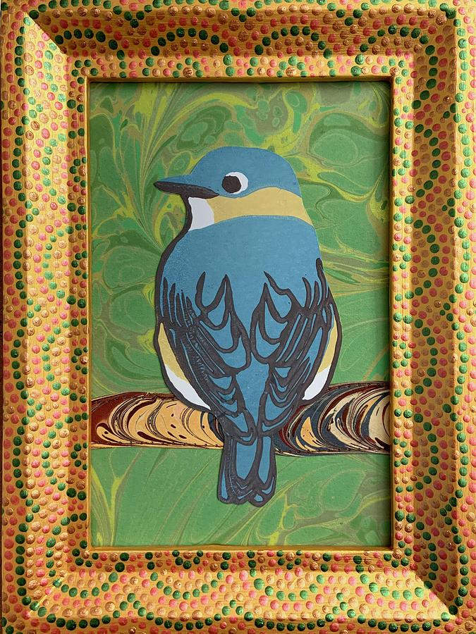 Female Bluebird by Amanda Lynne