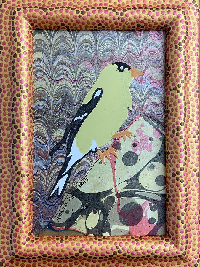Female Goldfinch by Amanda Lynne