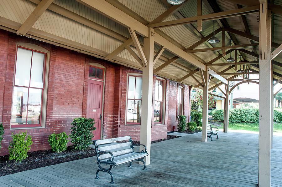 Fernandina Beach Train Depot Photograph