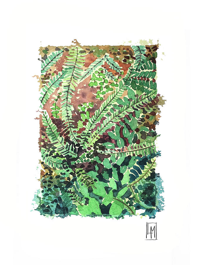 Ferns Painting