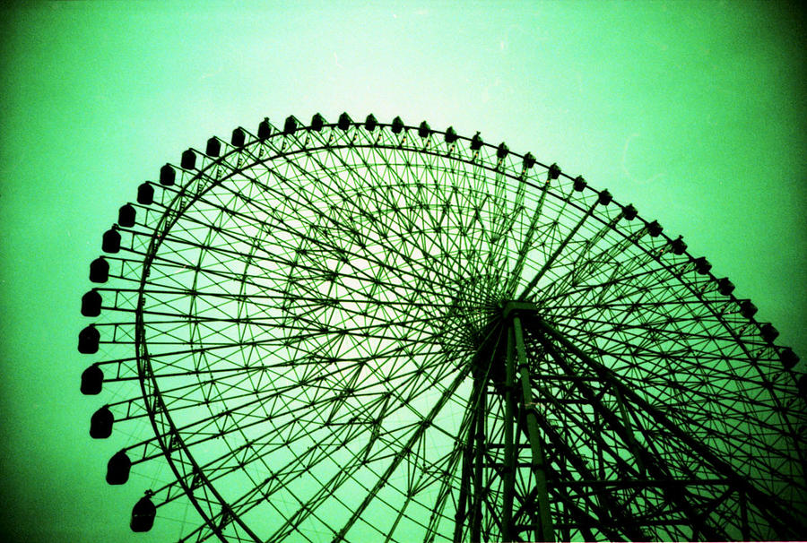 Ferris Wheel Silhouetted Against Sky Photograph by Willie Schumann / EyeEm