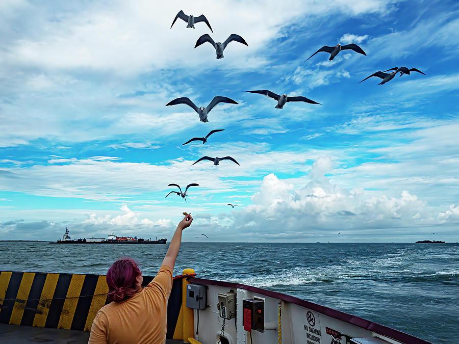 Ferry Ride Photograph