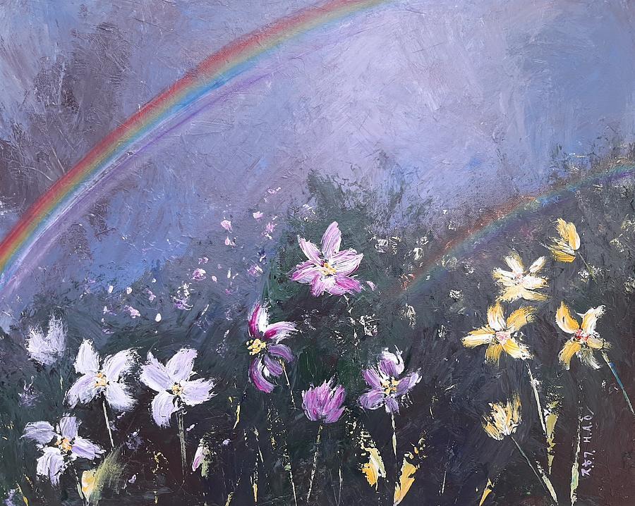 Field of Wildflowers by Helian Osher