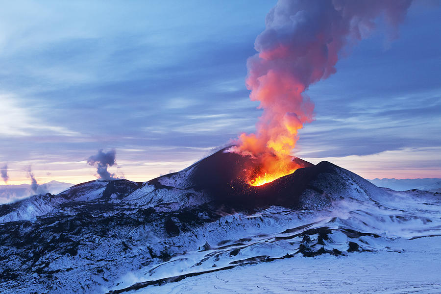 Fiery Kamchatka Photograph by Vershinin-M