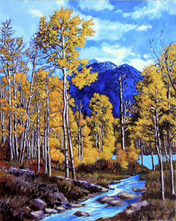Colorado Painting - Final Trip to Colorado by John Lautermilch