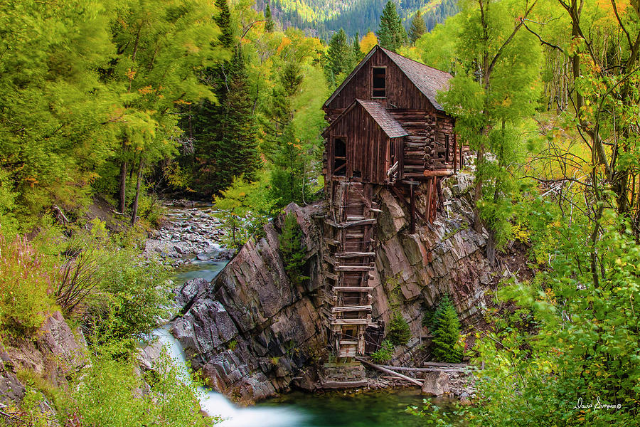 Finding Crystal Mill Photograph