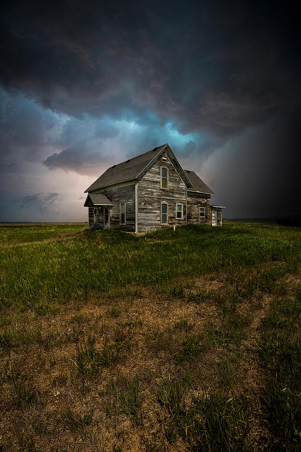 Storm Photograph - Finger Painting Of The Insane by Aaron J Groen