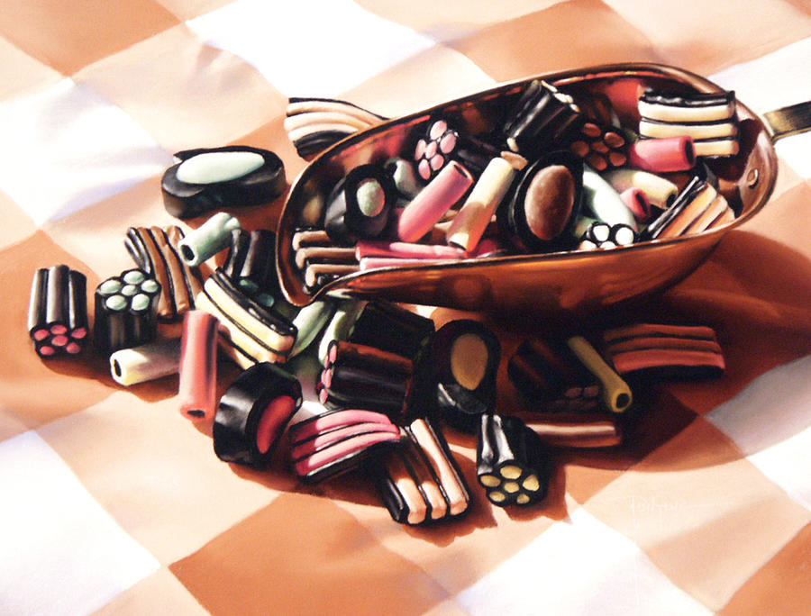 Candy Pastel - Finnish Allsorts by Dianna Ponting
