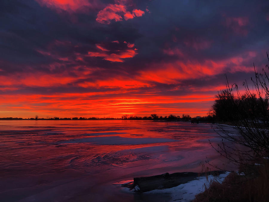 Fire And Ice Photograph by Shane Bechler